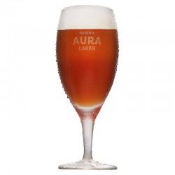 Taça de Cristal Bohemia Aura Lager 300ml