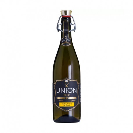 Cerveja Union Beer Witbier 750ml
