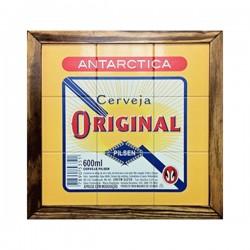 Quadro Antarctica Original 9 Azulejos