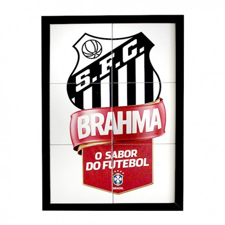 Quadro Santos - Brahma