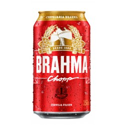 Cerveja Brahma Pilsen Lata 350 ml