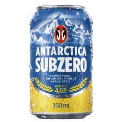 Cerveja Antárctica Sub Zero Pilsen - Lata 350 ml