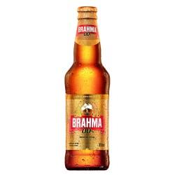 Cerveja Brahma Zero Long Neck 355 ml