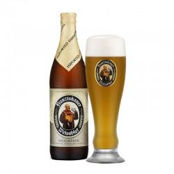 (02 Franziskaner Weissbier + 1 copo )