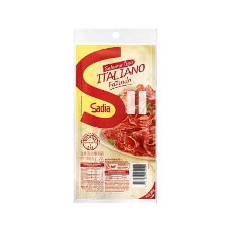 SALAME ITALIANO SADIA FATIADO 100G