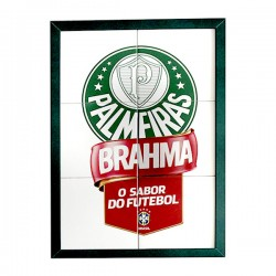Quadro Palmeiras - Brahma