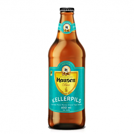 Cerveja Hausen Bier Keller 600ml